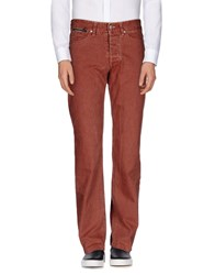 Dekker Trousers Casual Trousers Men Rust