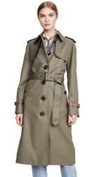Coach 1941 Belted Trench Military