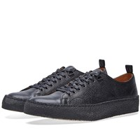 Fred Perry X George Cox Scotch Grain Tennis Shoe Black