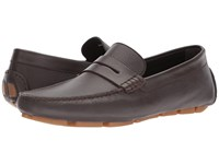 Canali Penny Driver Brown Men's Slip On Shoes