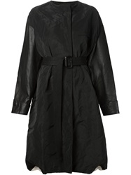 Vera Wang Oversized Coat Black