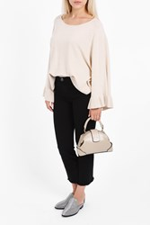 Elizabeth And James Women S Freja Flutter Sleeve Top Boutique1 Beige