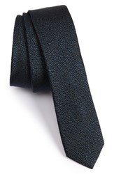 The Kooples Men's Dot Silk Jacquard Skinny Tie