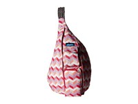 Kavu Rope Sling Sunset Chevron Backpack Bags Pink
