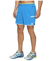 New Balance Viz Shorts Electric Blue Men's Shorts