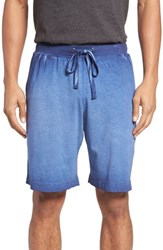Daniel Buchler Men's Vintage Wash Cotton Lounge Shorts