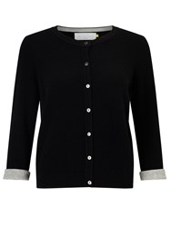 John Lewis Collection Weekend By Lightweight Cashmere Cardigan Black