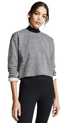 Alala Vedder Sweatshirt Charcoal
