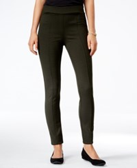Styleandco. Style Co. Houndstooth Leggings Only At Macy's Dark Ivy
