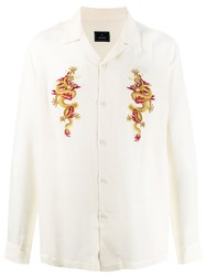 Mhi Maharishi Dragon Embroidered Shirt 60