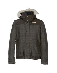 Crust Coats And Jackets Down Jackets Men Military Green