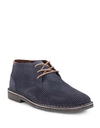 Kenneth Cole Reaction Dert Suede Chukkas Blue