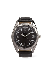 Forever 21 Faux Leather Banded Watch