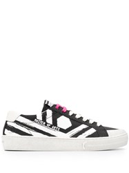 Moa Master Of Arts Printed Low Top Sneakers Black