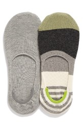 Lemon Women's Block Party Liner Socks Sterling