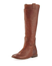 Paige Tall Riding Boot Cognac Frye