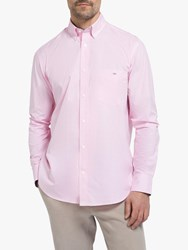 Eden Park Gingham Regular Fit Shirt Pink