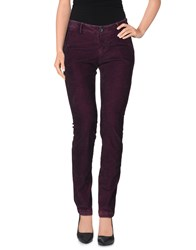 Nichol Judd Trousers Casual Trousers Women Deep Purple