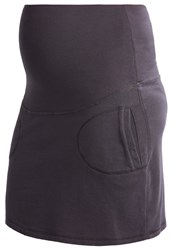 Queen Mum Pencil Skirt Dark Grey