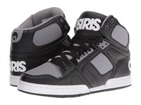 Osiris Nyc83 Black Grey Men's Skate Shoes