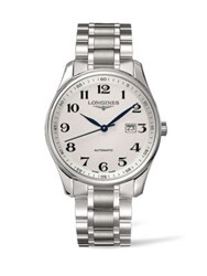 Longines Automatic Stainless Steel Bracelet Watch No Color