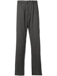 N 21 No21 Straight Leg Tailored Trousers Grey