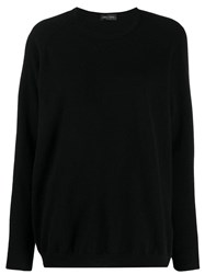 Roberto Collina Knitted Jumper Black