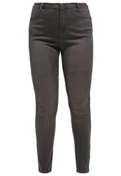 Dorothy Perkins Curve Slim Fit Jeans Charcoal Grey