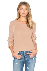 Vince Waffle Stitch Pullover Pink