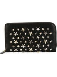 Jimmy Choo 'Carnaby' Wallet Black