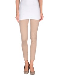 Le Coeur De Twin Set Simona Barbieri Trousers Leggings Women Beige