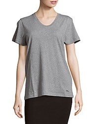Marc By Marc Jacobs Soft Cotton Short Sleeve Tee Elephant Grey