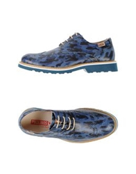Pikolinos Lace Up Shoes Blue