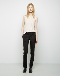 The Row Franklin Pant Black