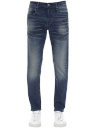 G Star 3301 Slim Stretch Cotton Denim Jeans Blue