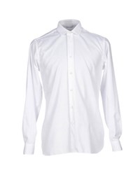 Mauro Grifoni Shirts Shirts Men White