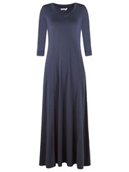 Lygia And Nanny Long Evening Dress Blue
