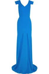 Roland Mouret Salters Crepe Gown Azure