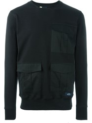 Bleu De Paname Pocket Sweatshirt Black