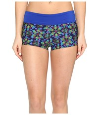 Tyr Edessa Della Boyshorts Navy Multi Women's Swimwear