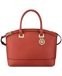 Anne Klein New Recruits Dome Satchel Red Multi