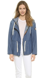 Ever Splendour Drawstring Jacket Ocean Wash