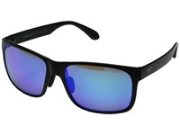 Maui Jim Red Sands Matte Black Blue Hawaii Fashion Sunglasses