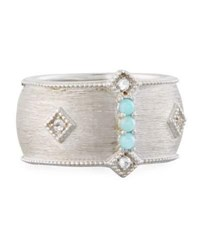Jude Frances Encore Sterling Silver Amazonite Ring Size 6.5