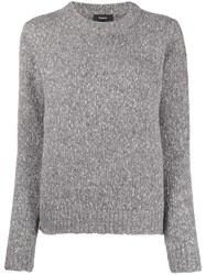 Theory Speckled Knit Jumper 60
