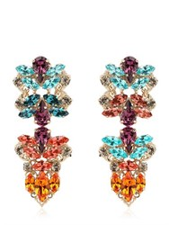 Anton Heunis Crystal Cluster Earrings