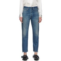 Chimala Blue Narrow Tapered Cut Selvedge Jeans