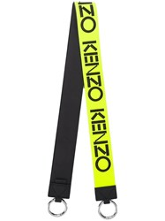 Kenzo Reversible Logo Bag Strap Yellow
