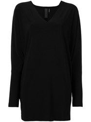 Norma Kamali V Neck Jumper Black