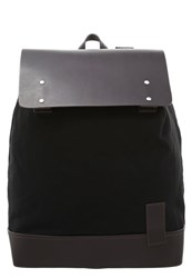 Kiomi Rucksack Black Dark Brown